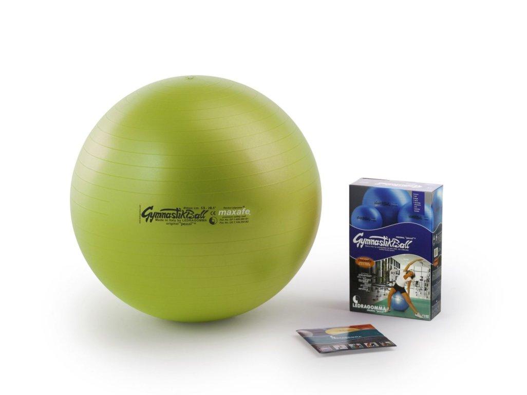 Ledragomma Gymnastik Ball Maxafe® 53cm kiwi