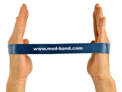 MSD-Band odporová slučka 28 x 2,5cm modrá (extra silná)