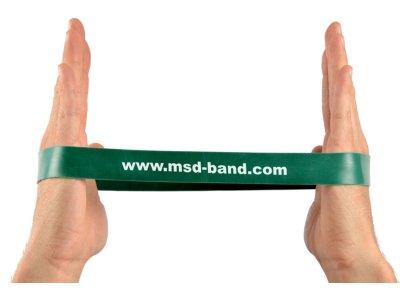 MSD-Band odporová slučka 28 x 2,5cm zelená (silná)